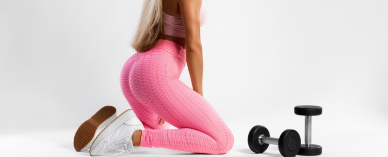 How many inches can glutes grow?